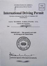 internatinaler Führerschein Abkommen 1949