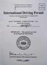 internationaler Führerschein Abkommen 1949