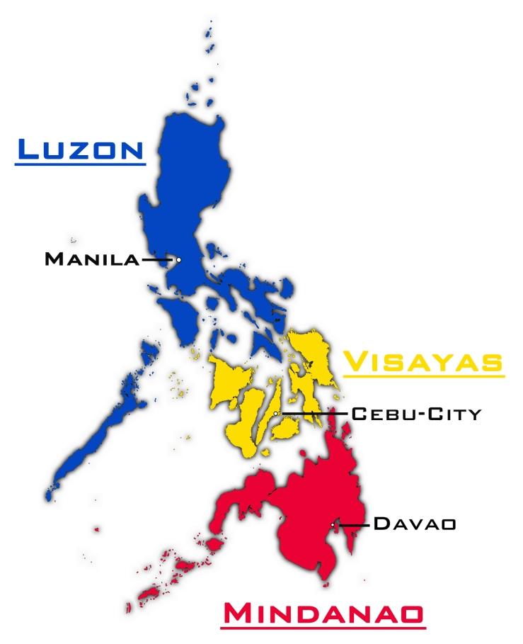 Philippinen-Grossregionen