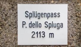 Spluegen-Passhoehe
