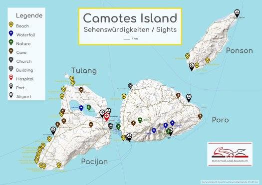 Camotes Island Sehenswuerdigkeiten Sights