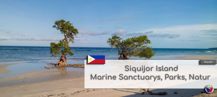 Siquijor Island - Marine Sanctuarys, Parks, Natur