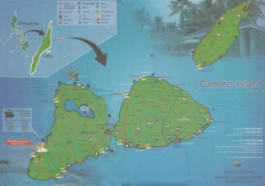 camoteas-touristenkarte