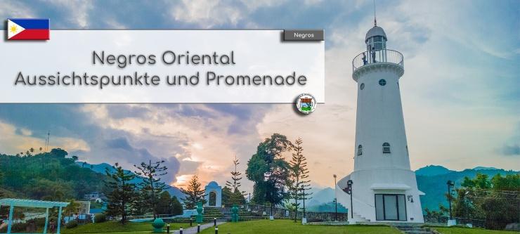 Negros Oriental - Aussichtspunkte und Promenade
