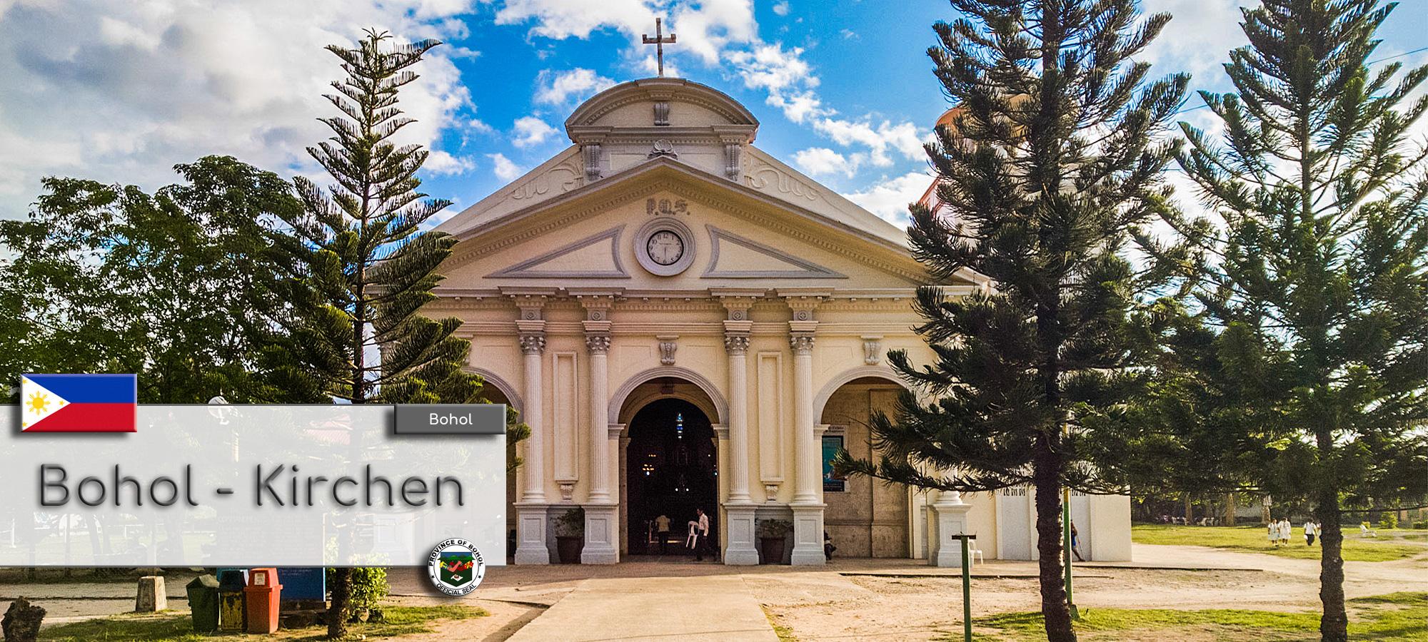 Bohol - Kirchen