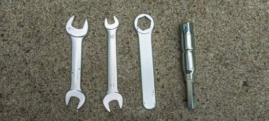 Africa Twin Adventure Sports CRF1100L - Werkzeug