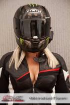 sexy Girl with Helmet