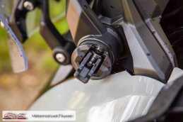 Honda X-ADV - Scheibe Einsteller offen